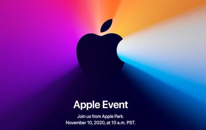 Блог Apple Fall 2020 Mac Event Live: 10:00 PST (18:00 UTC)