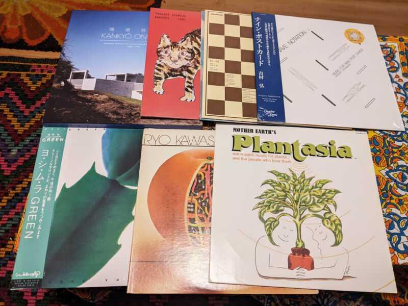Подборка виниловых пластинок коллекционера пластинок Майка Порволла, во многом вдохновленная открытиями YouTubecore.