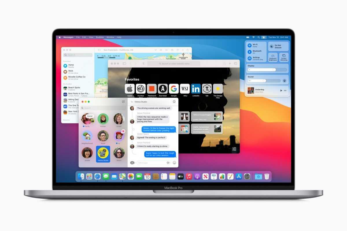 macOS Big Sur уже доступен