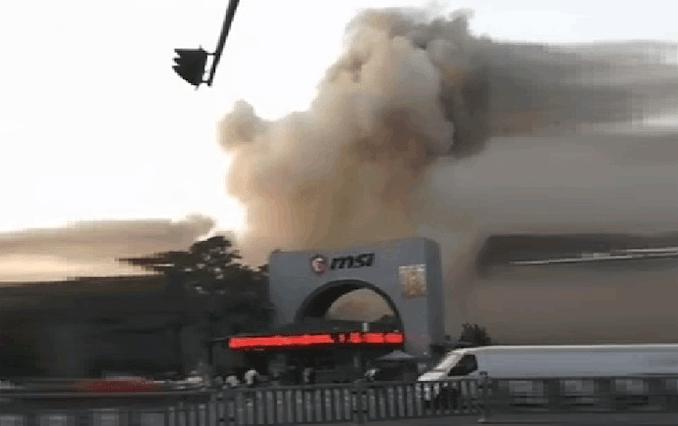 MSI подтвердила пожар на заводе печатных плат в Баоане, Китай