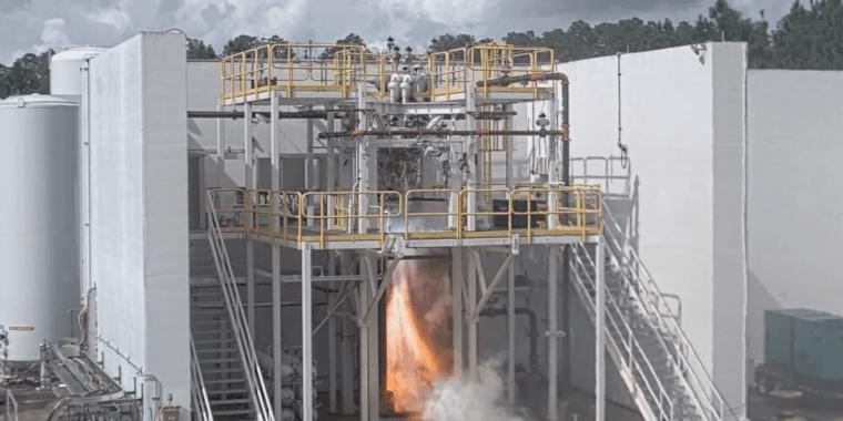 Напечатанный на 3D-принтере двигатель Relativity прошел тестовые испытания рабочего цикла