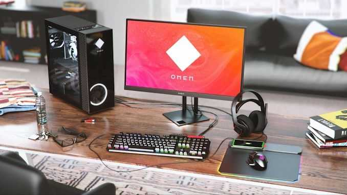 Настольные компьютеры HP OMEN с оборудованием AMD - это сладкое место для геймеров