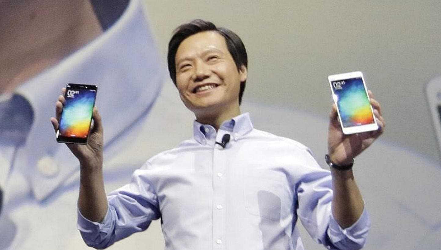 Лэй Цзюнь Генеральный директор Xiaomi