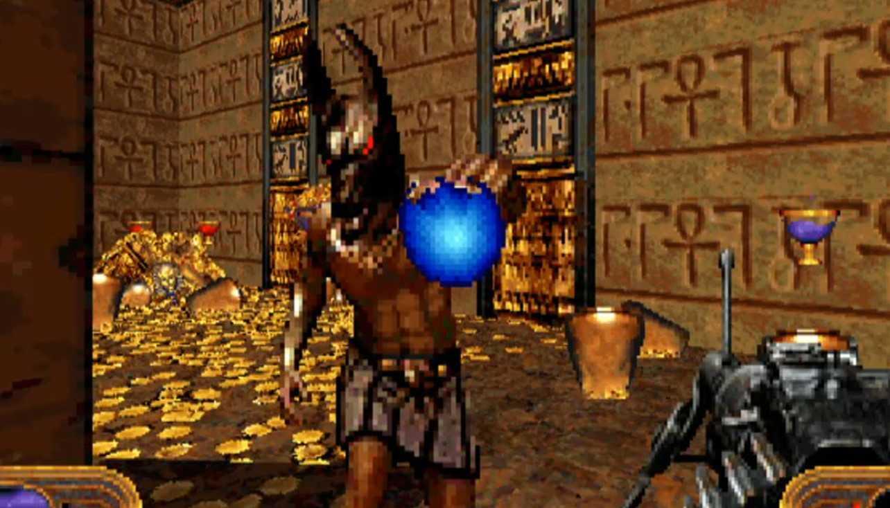 Powerslave, классический Build Engine 1996 года, возвращается в расширенном издании.