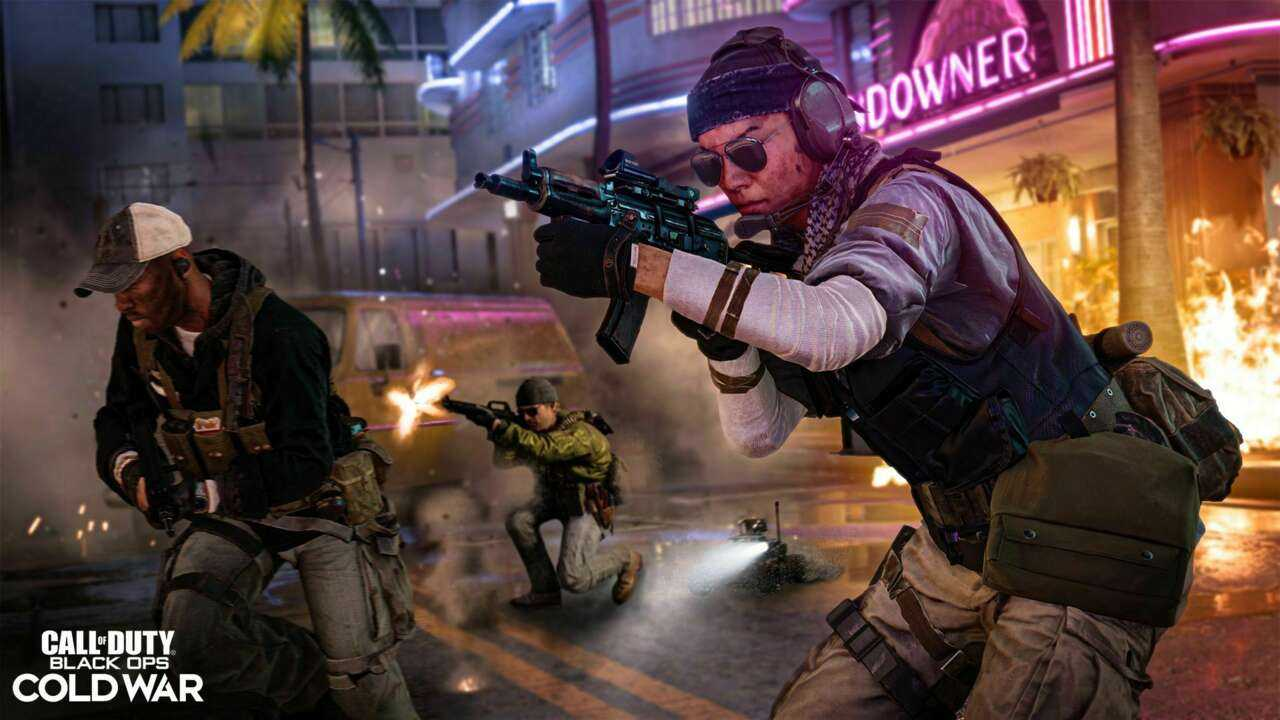 MP5, измененный в Call Of Duty: Black Ops, обновление холодной войны