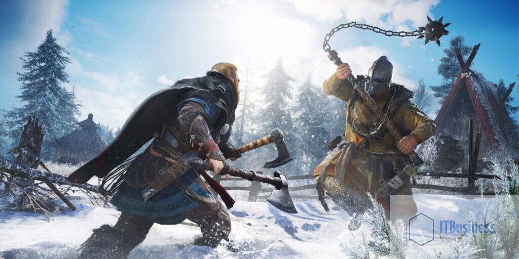 Эйвор против фанатика в Assassin's Creed Valhalla