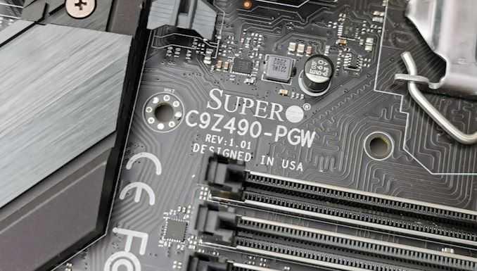 Comet Lake с 32 процессорами PCIe Lan