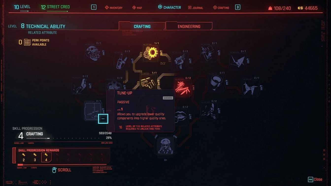 Какую добычу следует продавать, разбирать или оставлять в Cyberpunk 2077