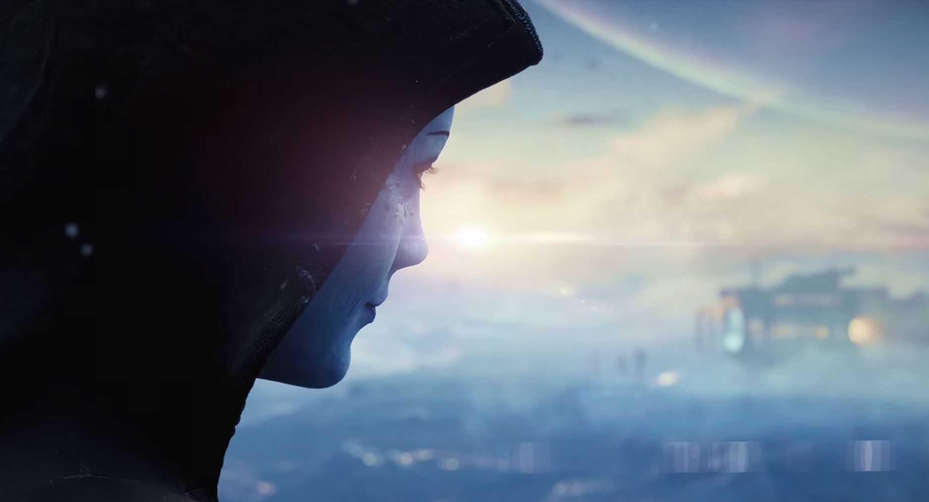 У следующего Mass Effect есть тизер, и он наверняка похож на Лиары.