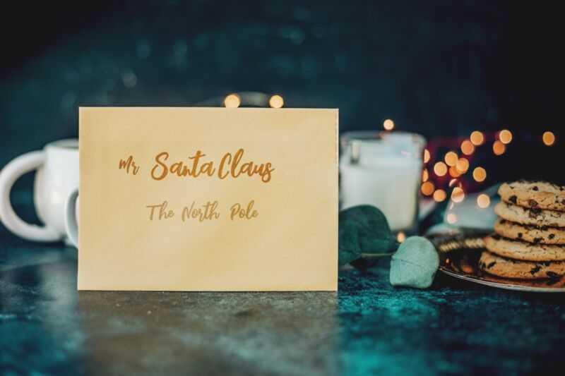 Написание писем Деду Морозу и отказ от молока и печенья - два действия, которые укрепляют веру детей.