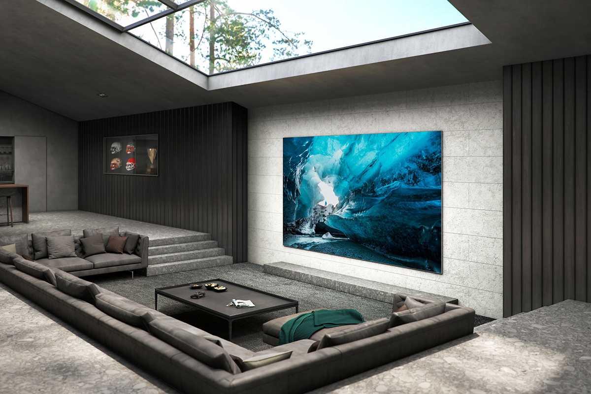 Samsung запускает массовый 110-дюймовый телевизор MicroLED в Корее