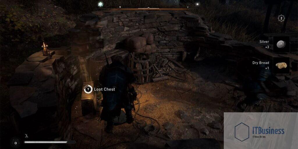 Собирайте сундуки с припасами в Assassin's Creed Valhalla
