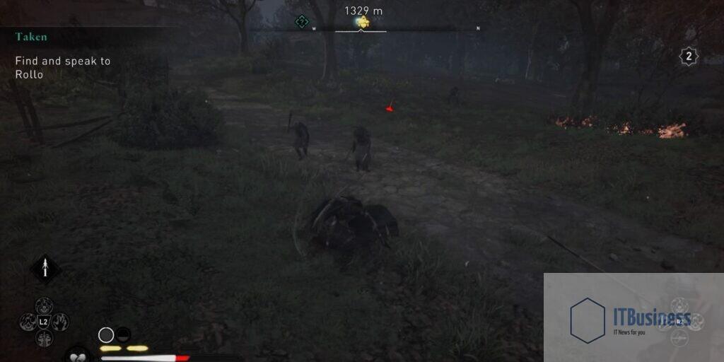 Толпа элит в Assassin's Creed Valhalla