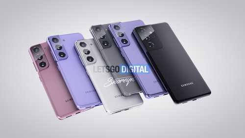 Смартфон Samsung Galaxy S21 / фот. LetsGoDigital