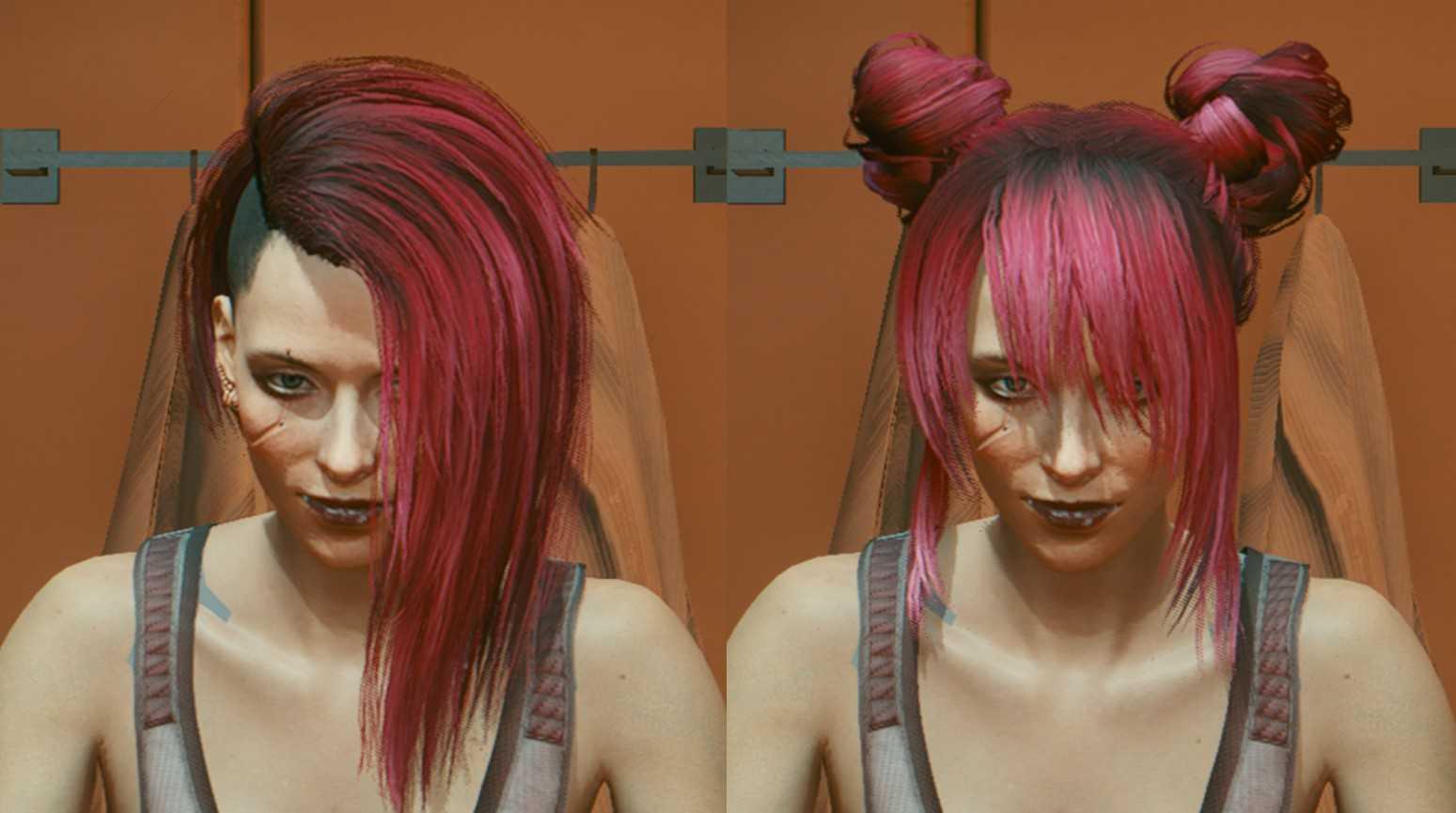 Измените свою прическу Cyberpunk 2077 с помощью этого мода