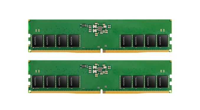 ADATA утверждает, что имеет модуль DDR5, но присылает нам рендеры