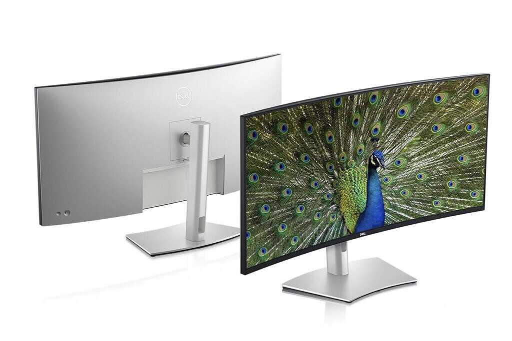 Изображение продукта изогнутого монитора Dell UltraSharp 40