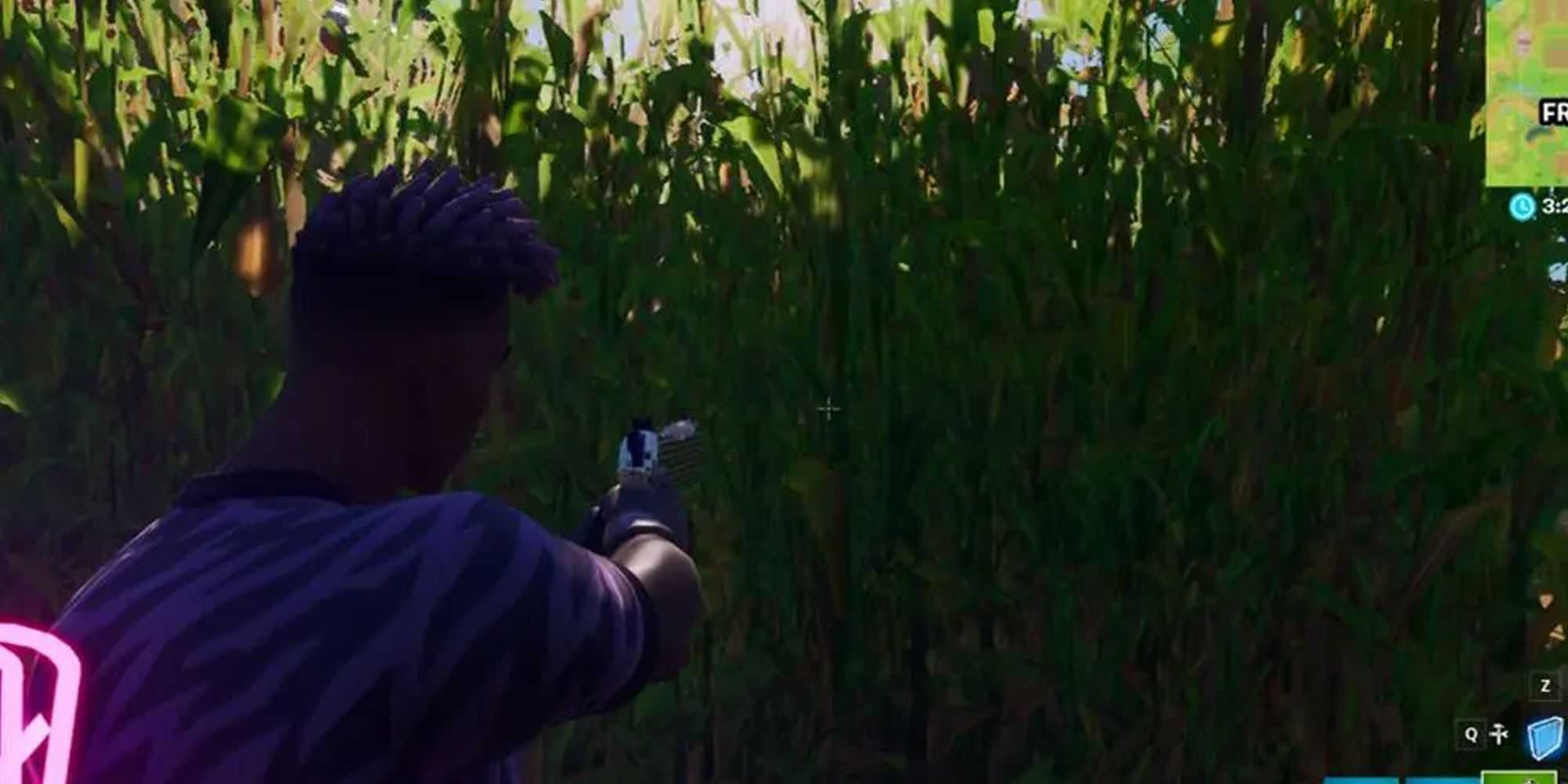 Fortnite: где найти кукурузное поле на стальной ферме
