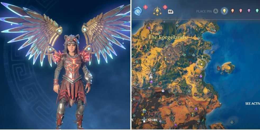 Immortals-Fenyx-крылья зевса