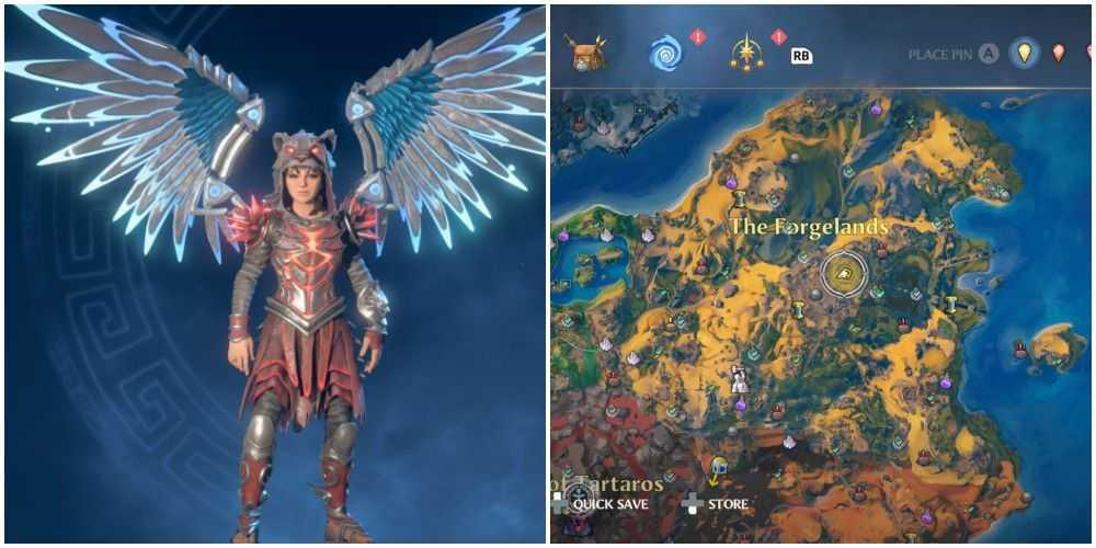 тлеющие крылья Зевса