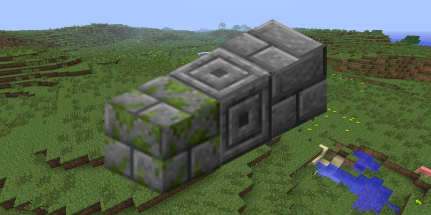 Как делать разные каменные кирпичи в Minecraft