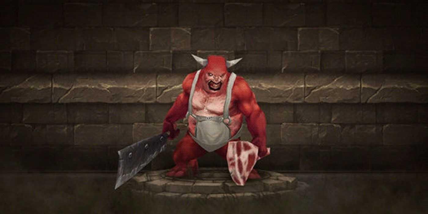 Как победить Мясника в Diablo 3 (Darkening of Tristram)