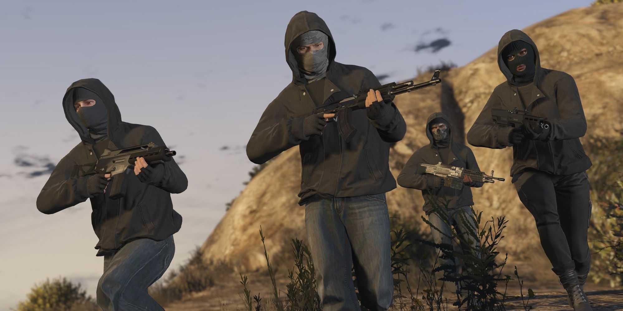 Как вступить в банду в GTA Online