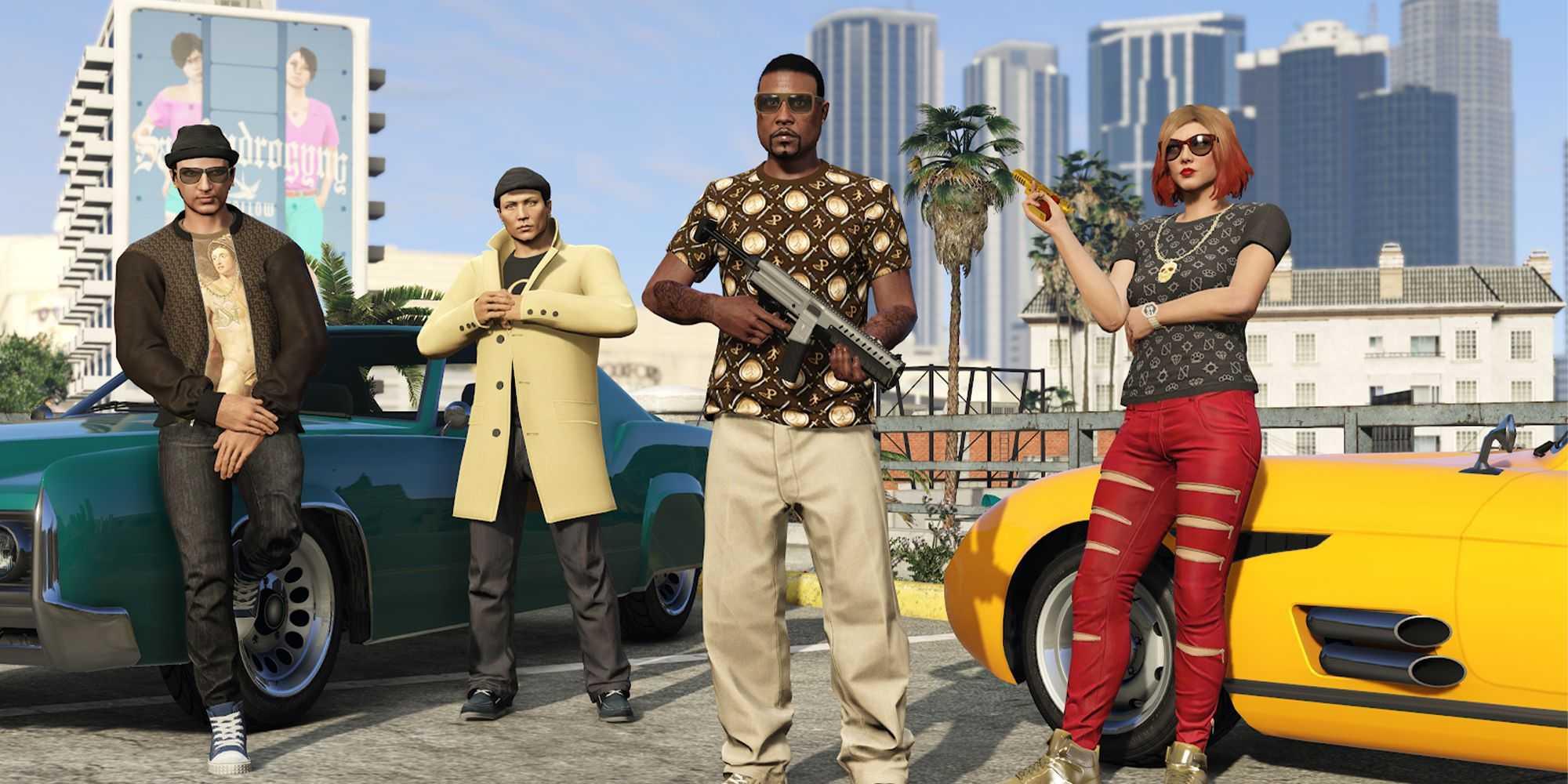 Лучшие занятия с друзьями в GTA Online