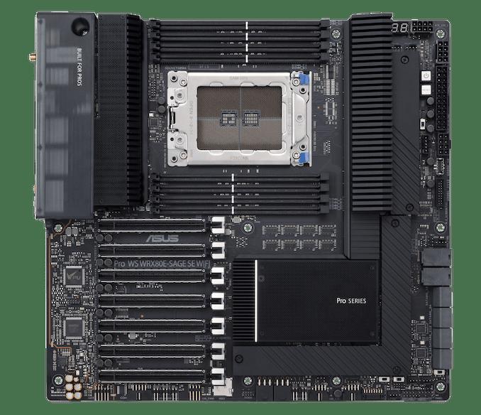 Материнская плата для AMD Threadripper Pro