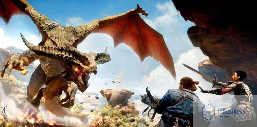 Высший дракон Ферелдана Морозного спина в Dragon Age: Inquisition