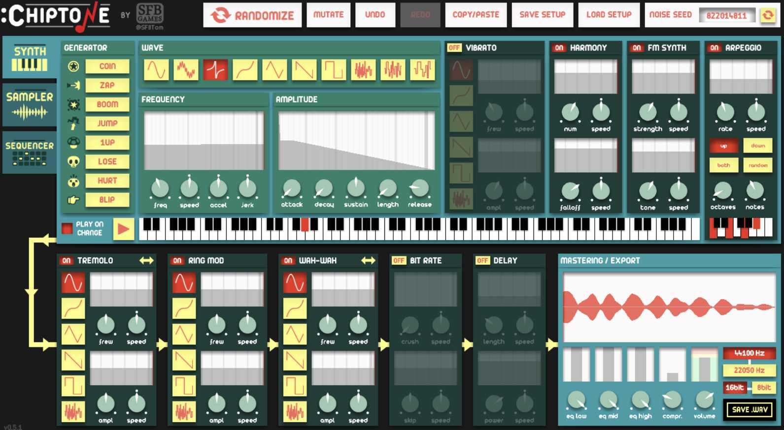 Создавайте звуковые эффекты для игр (или просто для развлечения) с помощью этого замечательного инструмента