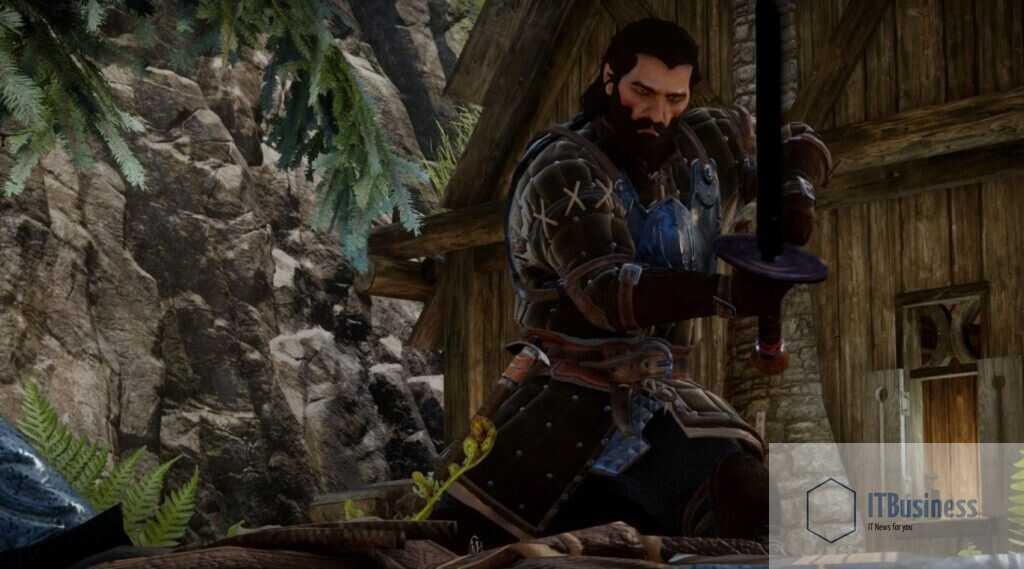 Блэкволл во Внутренних землях во время игры The Lone Warden в Dragon Age: Inquisition
