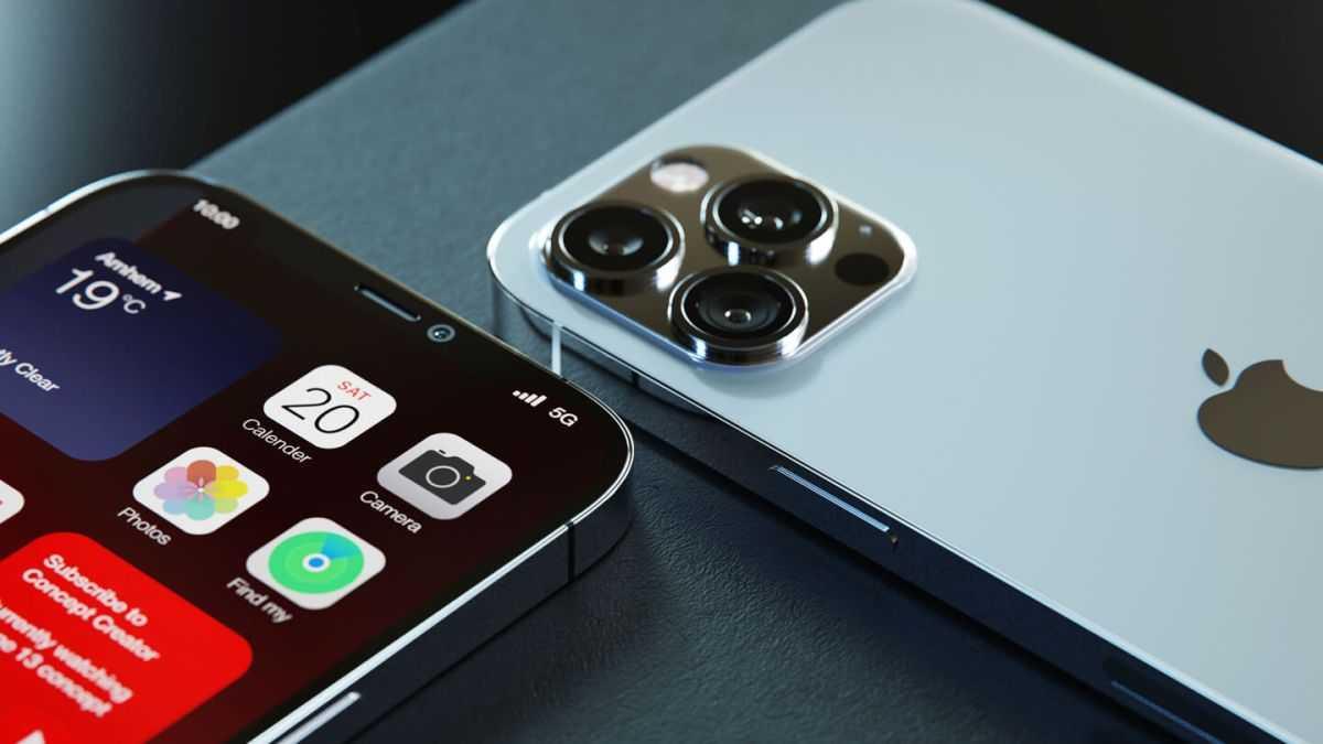 Рендеры iPhone 13 демонстрируют потрясающий дизайн с меньшей выемкой