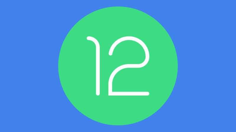 Мы предполагаем, что этот зеленый кружок (мы добавили фон) - это логотип Android 12.
