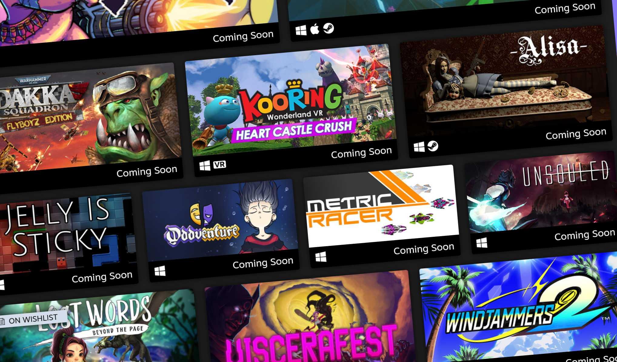 В июне состоится еще один фестиваль игр Steam