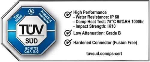 Huawei DQ ODN получил первый знак сертификации TUV SUD для продуктов оптических распределительных сетей