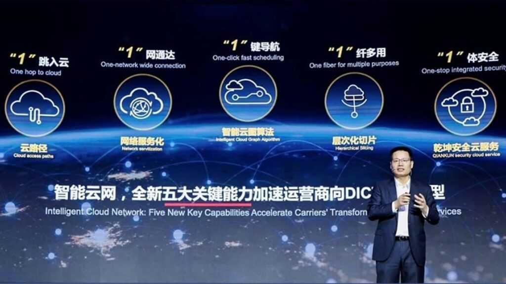 Huawei представляет пять новых возможностей облачного сетевого решения