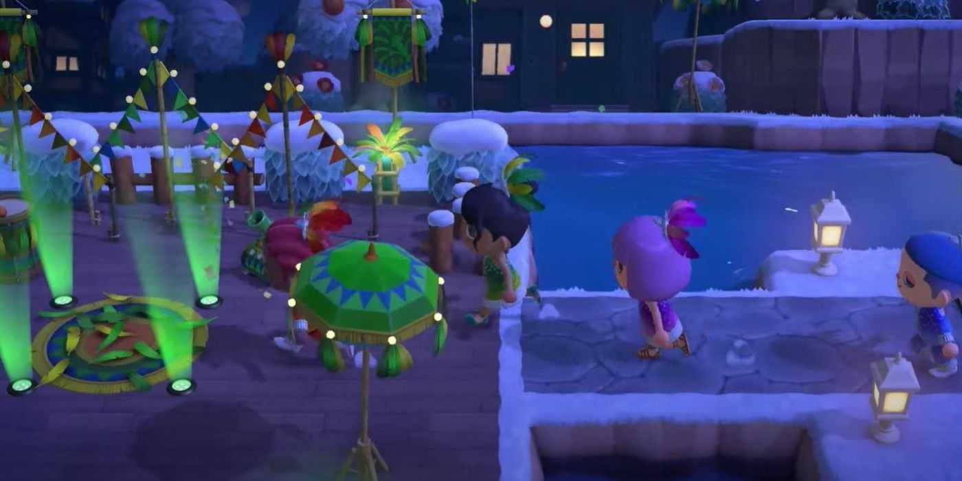 Как получить фестивальную мебель в Animal Crossing
