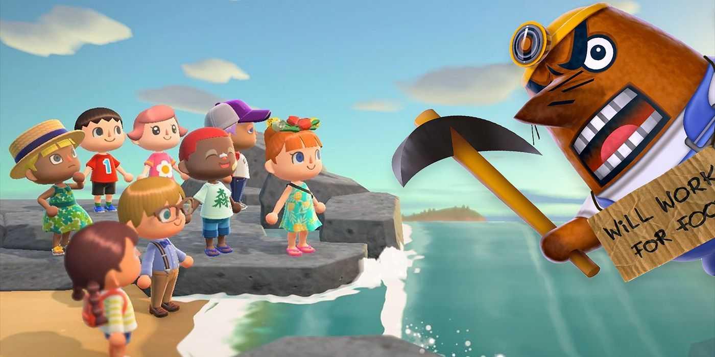 Как получить фигуру мистера Решетти в Animal Crossing: New Horizons