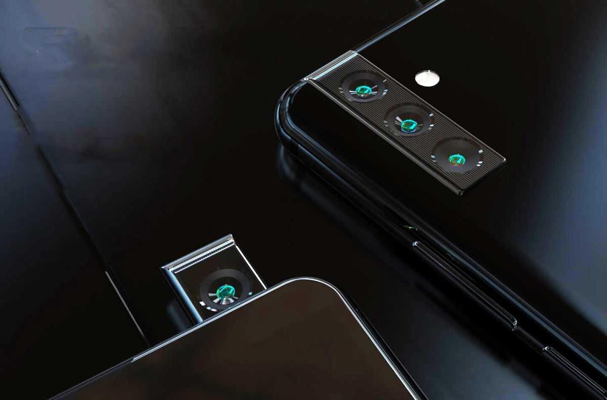 Патент на телефон Samsung раскрывает гениальную вращающуюся всплывающую камеру