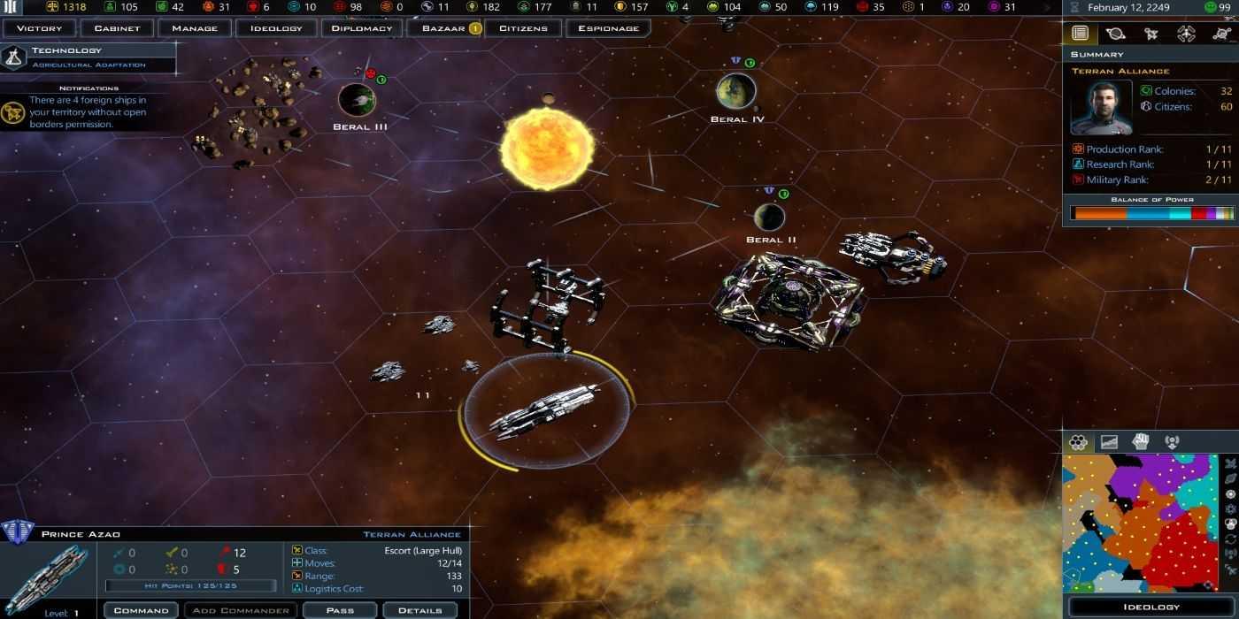 Руководство для начинающих по галактическим цивилизациям 3 (советы, уловки и стратегии)