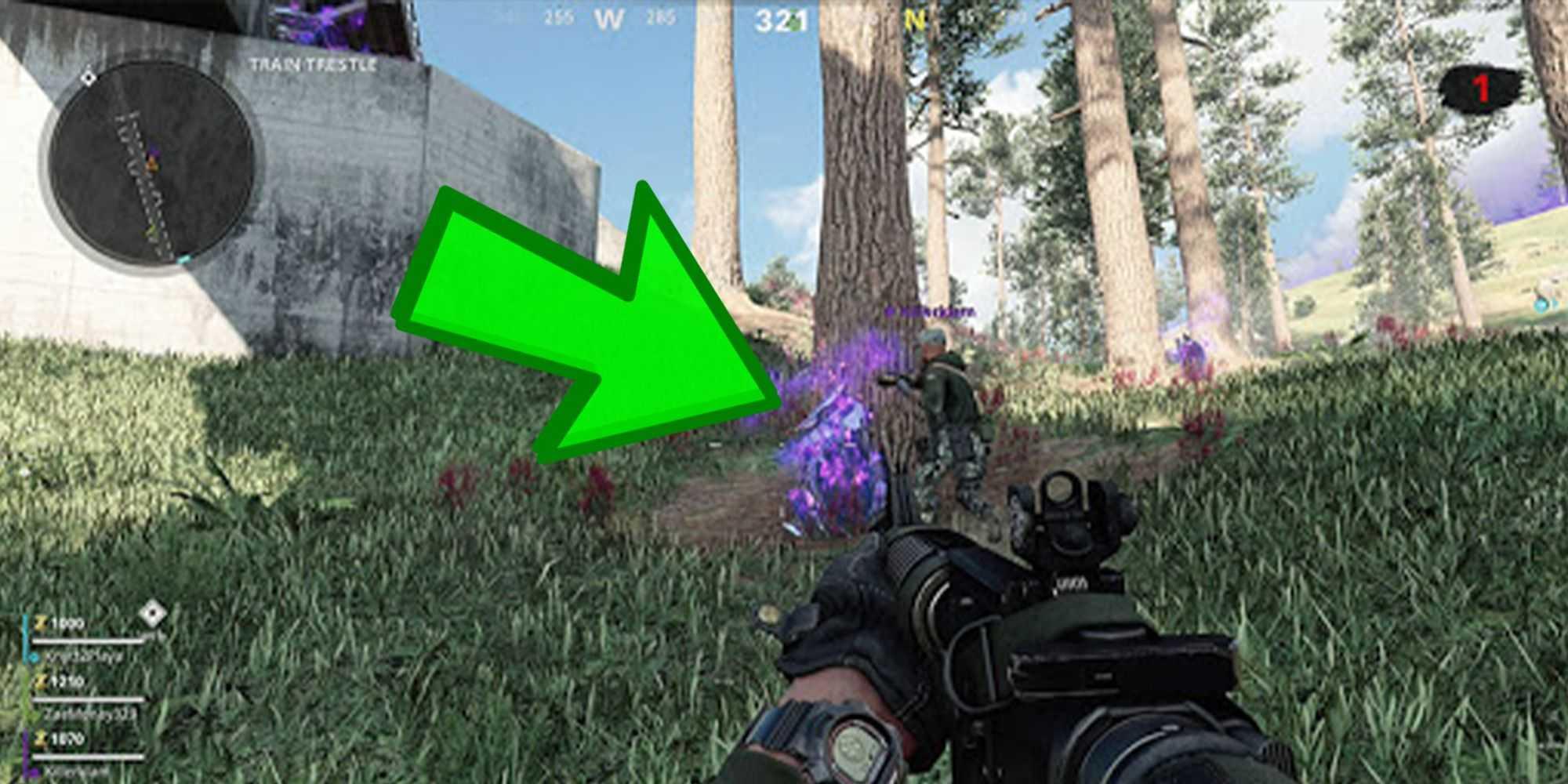 COD: Вспышка зомби - фиолетовые кристаллы (что они делают и как их найти)