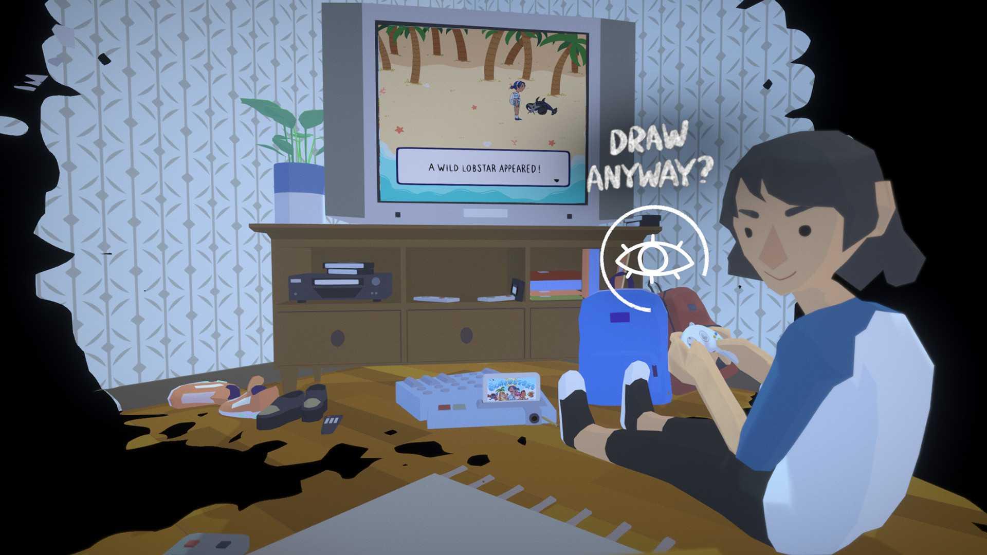 Before Your Eyes - это интерактивная загробная жизнь, в которую вы играете, моргая