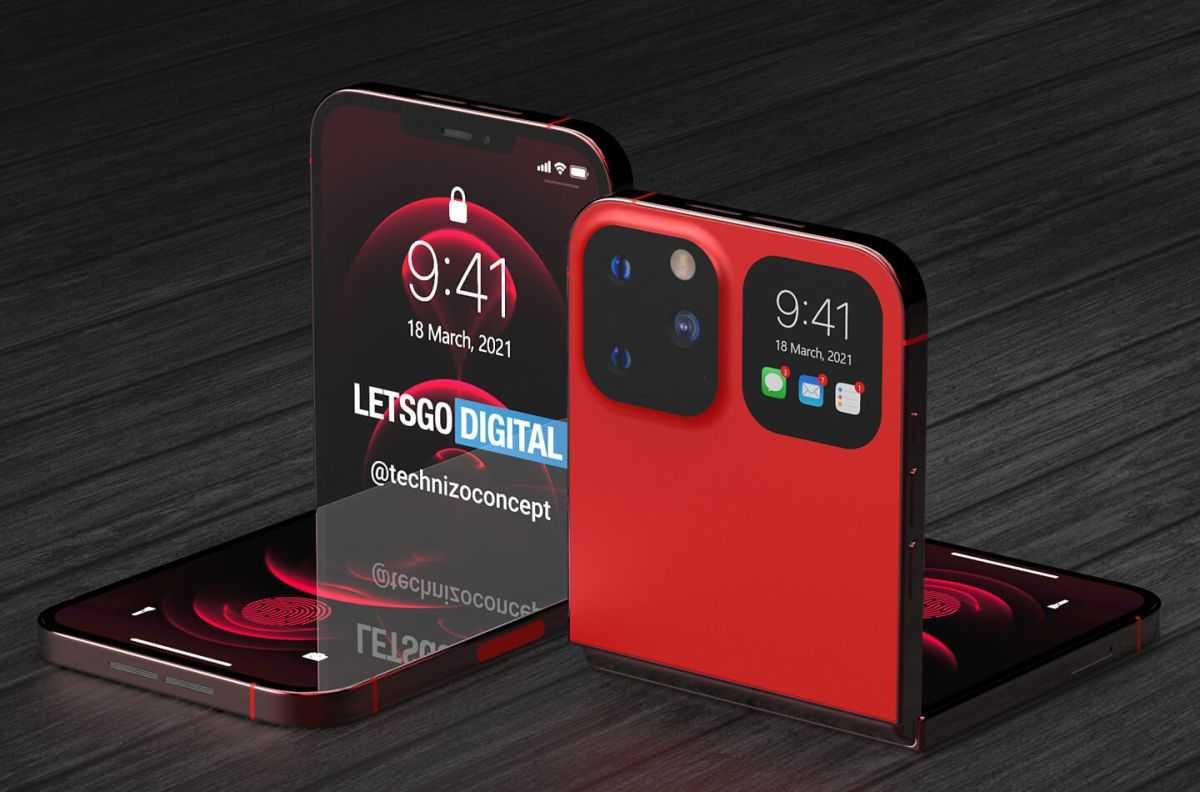Забудьте о Galaxy Z Flip 2 - этот концепт iPhone Flip выглядит потрясающе