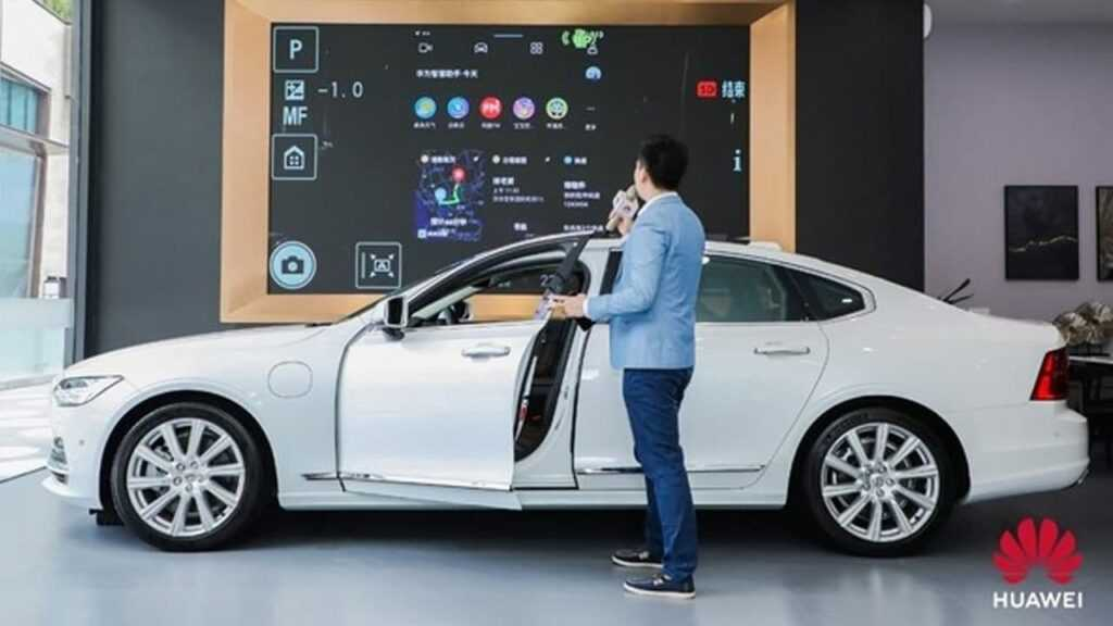 Патент Huawei на технологию Lidar в области автономного вождения