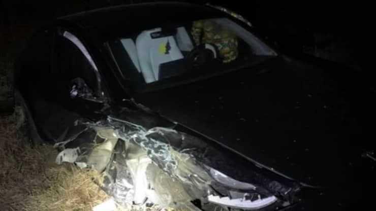 Tesla на автопилоте разбила полицейскую машину