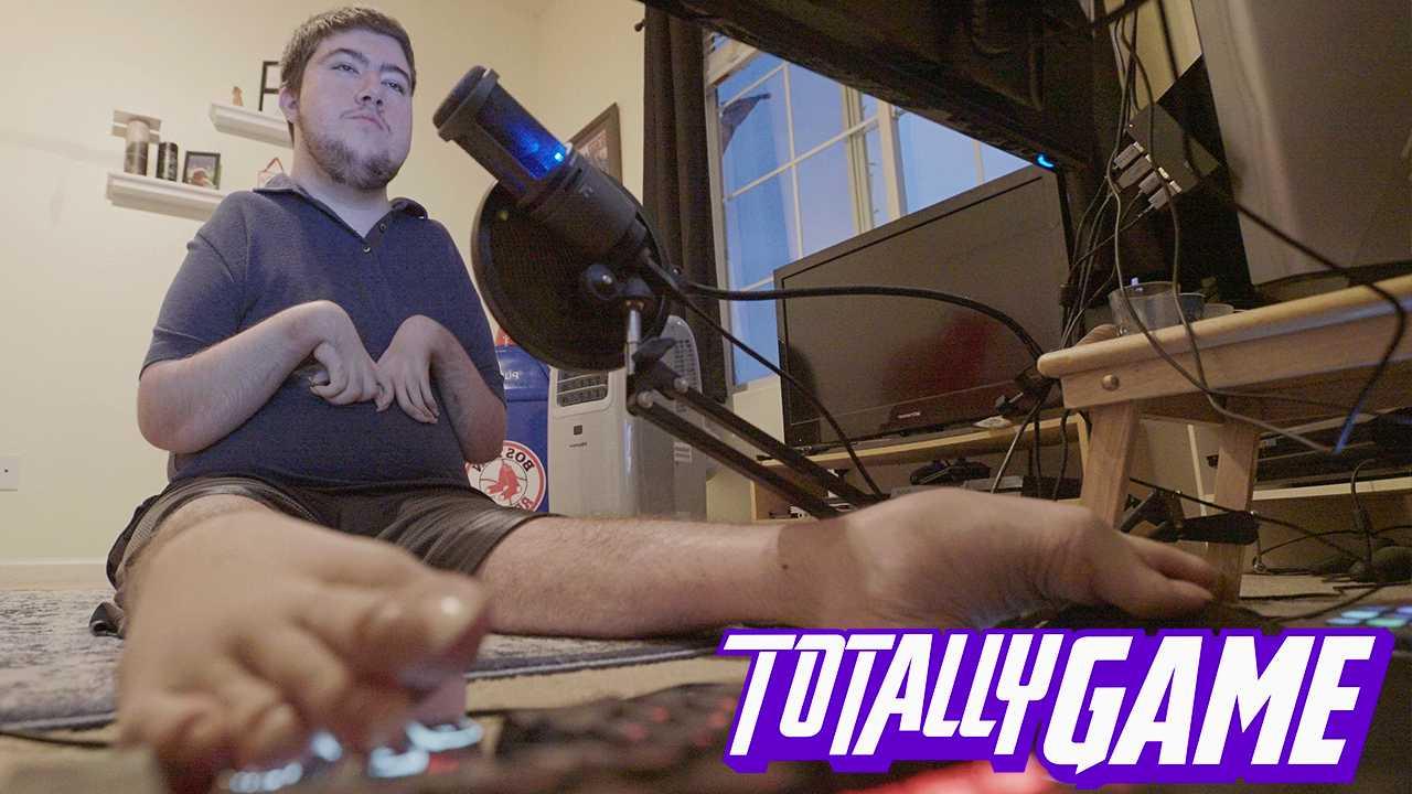 Totally Game: этот мастер Overwatch играет исключительно ногами