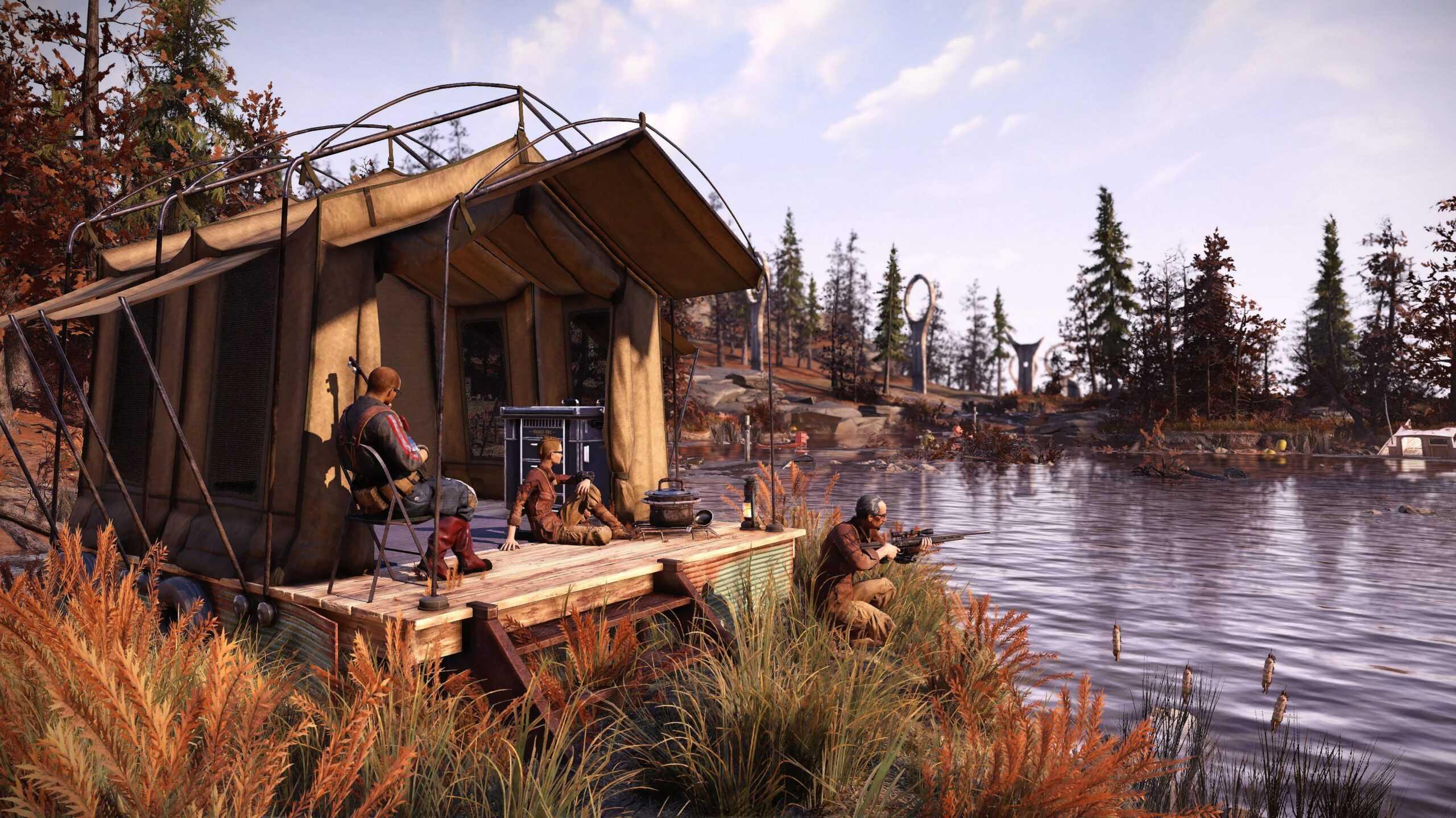 Обновление Fallout 76 Locked & Loaded позволит вам иметь несколько лагерей и комплектов экипировки