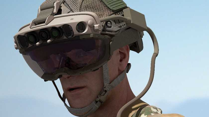 Microsoft подписала армейский контракт на 22 миллиарда долларов на военное оборудование HoloLens