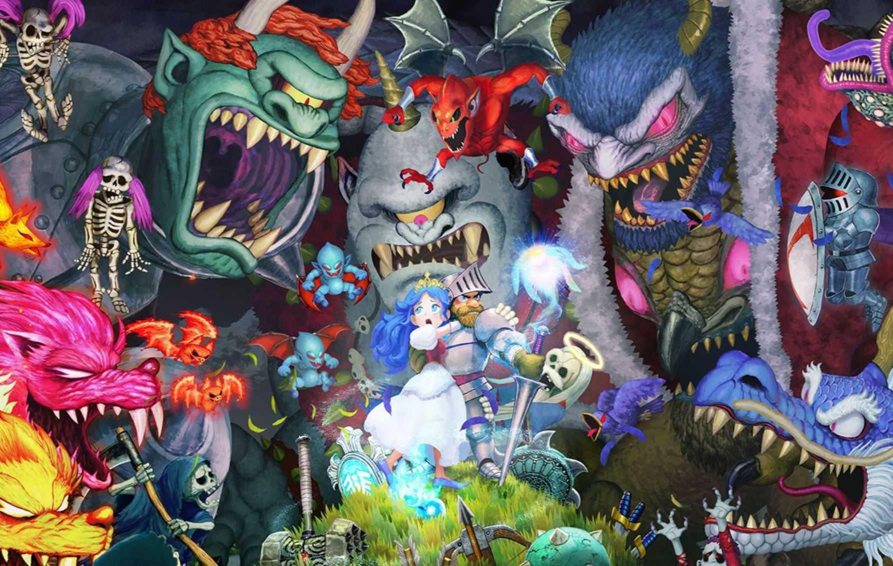Бывший эксклюзив для Switch Ghosts 'n Goblins Resurrection выходит на ПК